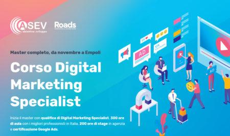 Corso Digital Marketing Specialist, in partenza la nuova edizione