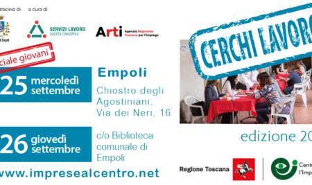 Il 25 e 26 settembre a Empoli la nuova edizione di Imprese al Centro