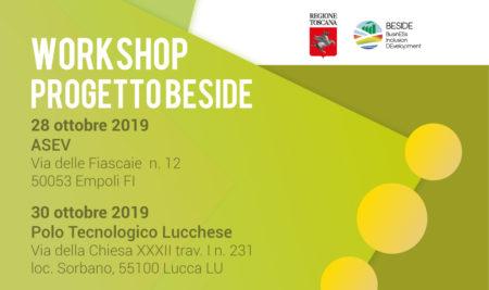 2 Workshop del Progetto Beside in programma ad ottobre